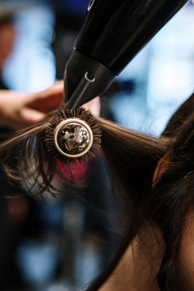 brosse pour cheveux